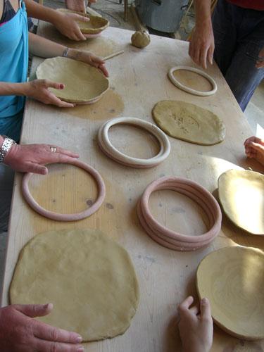 Formen von Schalen