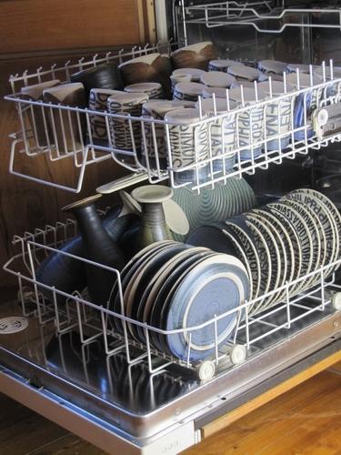 Geiger-Keramik in der Spülmaschine